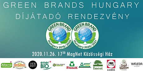GREEN BRANDS Hungary Díjátadó 2020 tickets