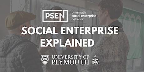 Social Enterprise Explained tickets