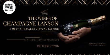 MEET-the-MAKER: The House and Wines of Champagne Lanson tickets