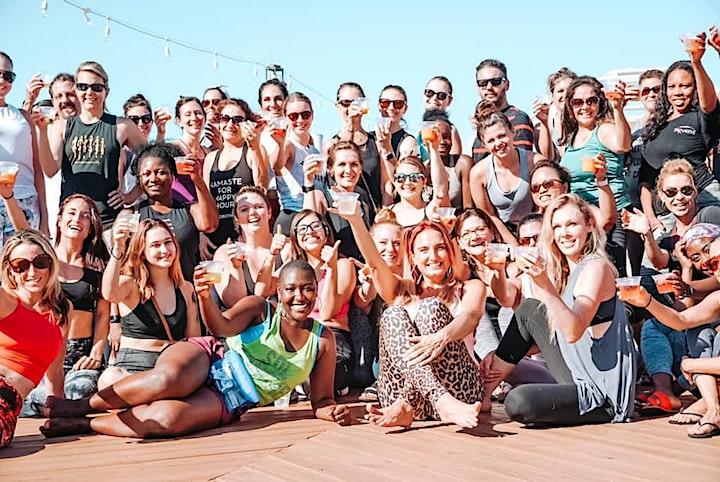 Yoga + Bottomless Mimosas on The Pier image