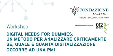 Digital Needs for Dummies biglietti
