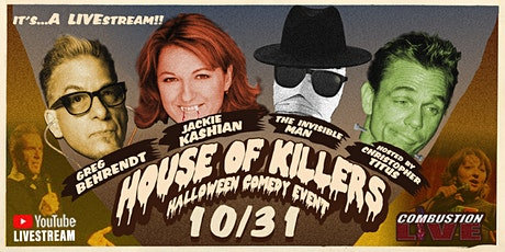 """The House of Killers,"" Titus, Greg Behrendt,&  Jackie Kashian tickets"