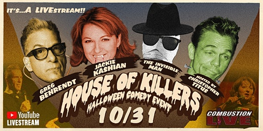 The House of Killers: Christopher Titus, Greg Behrendt, & Jackie Kashian