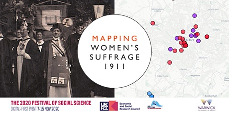 Women's suffrage and me: mapping women's activism in local communities tickets