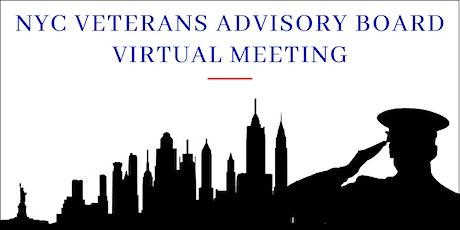 NYC Virtual Veterans Advisory Board Meeting tickets