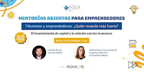 Mentoría Rokk3r : Tiburones y emprendedores: ¿Quién muerde más fuerte? entradas