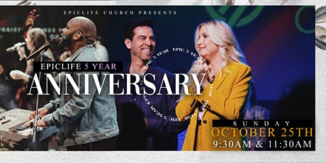 EpicLife Church - Anniversary Sunday Service (Oct. 25, 2020) tickets