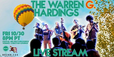 NVCS presents THE WARREN G. HARDINGS (live stream) tickets