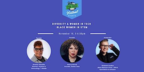 Diversity & Womxn in Tech - Black Women in STEM tickets