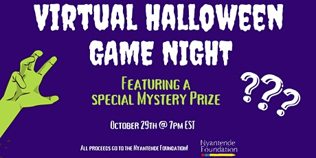 Virtual Halloween Game Night tickets