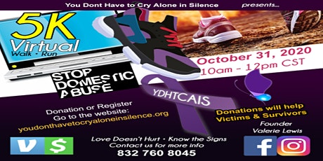 5k Virtual Walk/Run to end Domestic Violence tickets