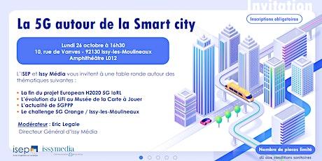 Quels seront les usages de la 5G pour les Smart cities ? billets