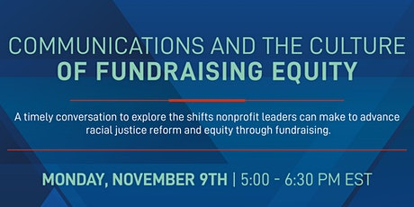 Communications and the Culture of Fundraising Equity tickets