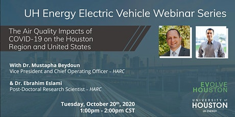 UH Energy Electric Vehicle Webinar tickets