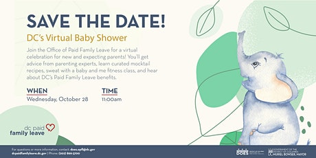 DC's Virtual Baby Shower tickets
