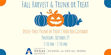 Fall Harvest & Trunk or Treat tickets