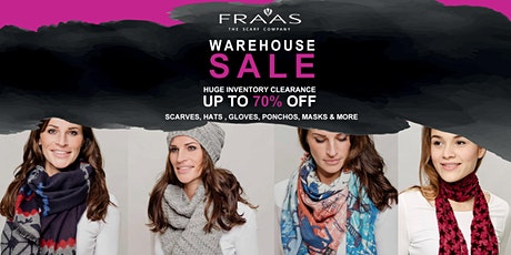 Fraas - The Scarf Company - Huge Warehouse Sale - Upto 70% OFF tickets