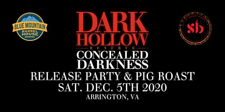 2020 Concealed Darkness Release Party and Pig Roast tickets