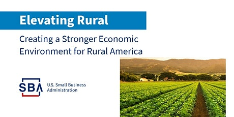 Capital and Resources for Your Rural Business with SBA and USDA tickets