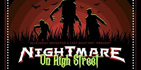 Allegedly Defeated Presents: Nightmare on High Street tickets