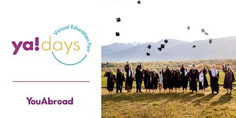 YA! Days – Virtual Education Fair tickets