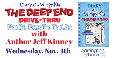 Jeff Kinney: Diary of a Wimpy Kid: The Deep End Drive-Thru Pool Party tickets