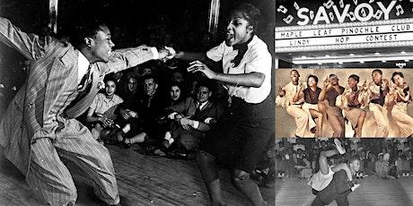 'Jazz Age Harlem and the Swing Dance Revolution' Webinar tickets