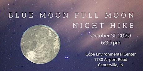 Blue Moon Full Moon Night Hike tickets