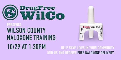 DrugFree WilCo Presents: Community Naloxone Training tickets