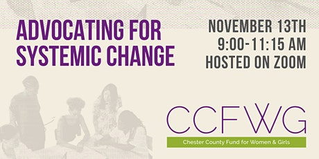Advocating for Systemic Change tickets