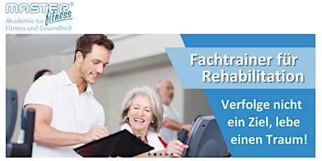 Ausbildung zum Fachtrainer für Rehabilitation Tickets
