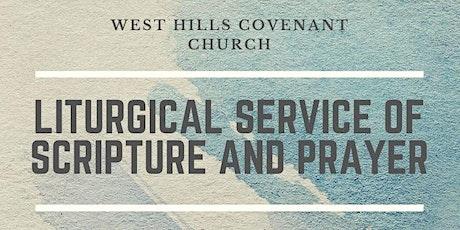 Online Liturgical Service (no RSVP required) tickets