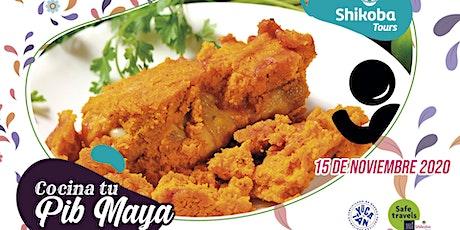 Cocina tu Pib Maya (mucbipollo) boletos