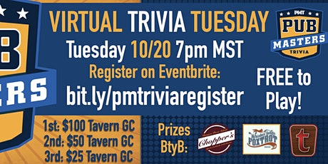 Virtual Trivia Tuesday - FREE to Play! w/ Pub Masters - THG tickets