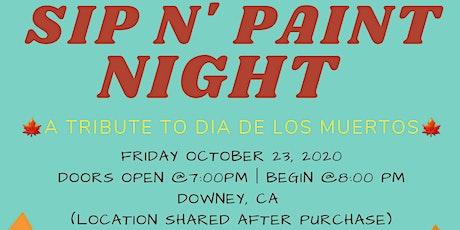 Sip N' Paint Night tickets