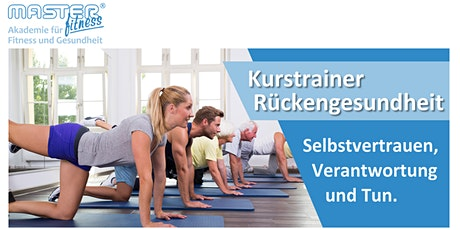 Ausbildung zum Kurstrainer Rückengesundheit Tickets