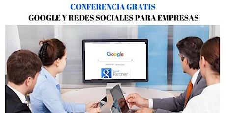 Conferencia GRATIS Online Google y Redes Sociales entradas
