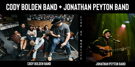 Cody Bolden Band + Jonathan Peyton Band tickets