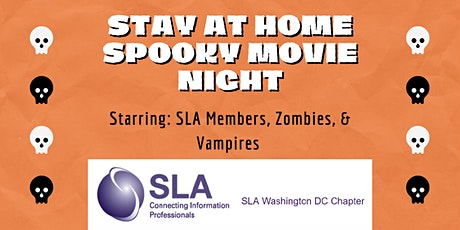 DCSLA Stay at Home Movie Night: Halloween edition tickets