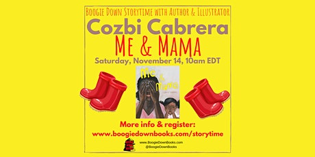 Virtual Boogie Down Storytime with Cozbi Cabrera (November 14) tickets