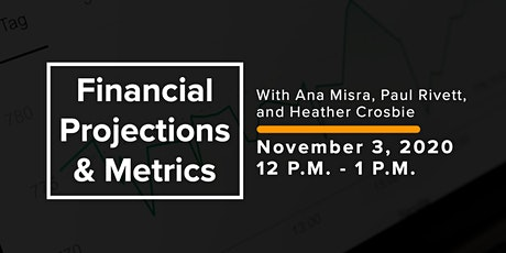 Financial Projections & Metrics tickets