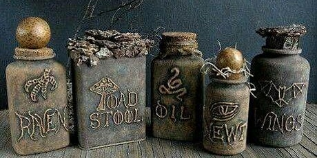 More Potion Bottles and Spell Books tickets