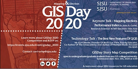 SJSU GIS Day 2020 : Mapping and Election tickets