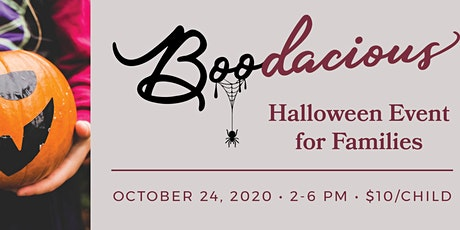 A Boodacious Halloween for Families tickets