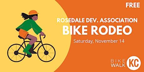 Rosedale Bike Rodeo tickets