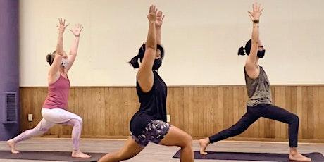 Community Class at Bonfire Hot Yoga! tickets