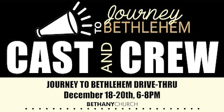 Journey to Bethlehem - Cast & Crew tickets