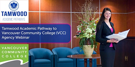 Tamwood Academic Pathways – Transferring to VCC agency webinar tickets
