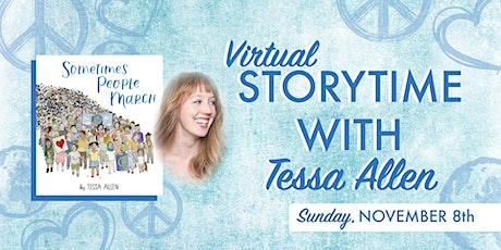 Storytime with Tessa Allen tickets