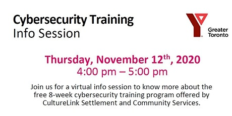 Cybersecurity Training _Virtual Info Session tickets